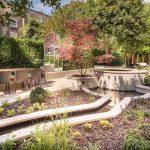 Garden Area, Bedford Hotel